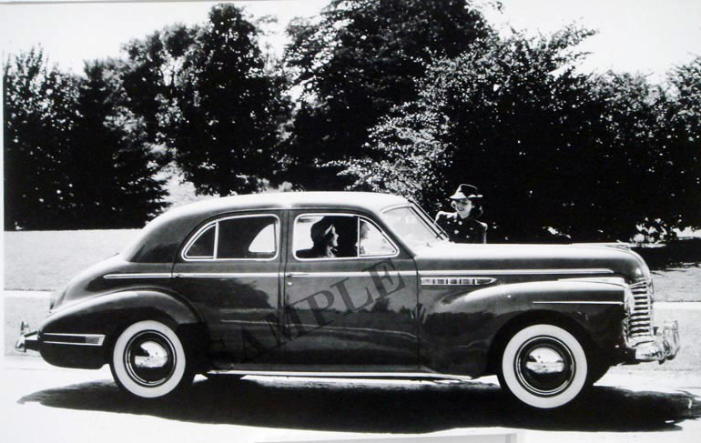 1941 Buick Super 4-Door Sedan