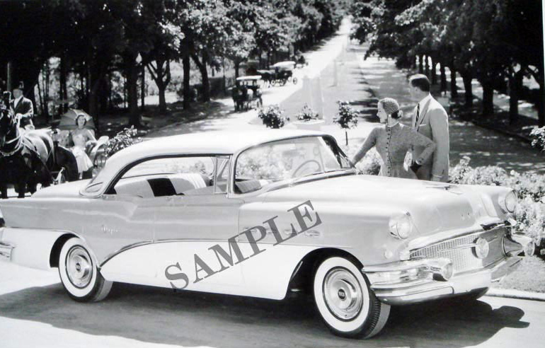 1956 Buick Super 4-Door Hardtop