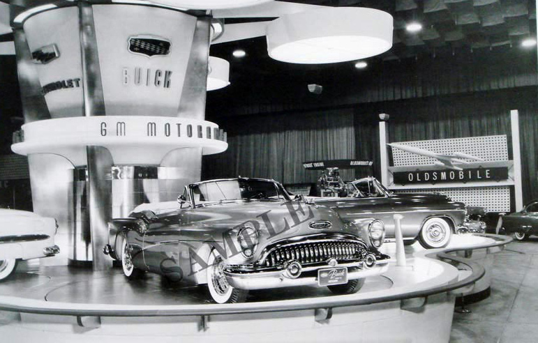 1953 Buick Skylark At GM Motorama