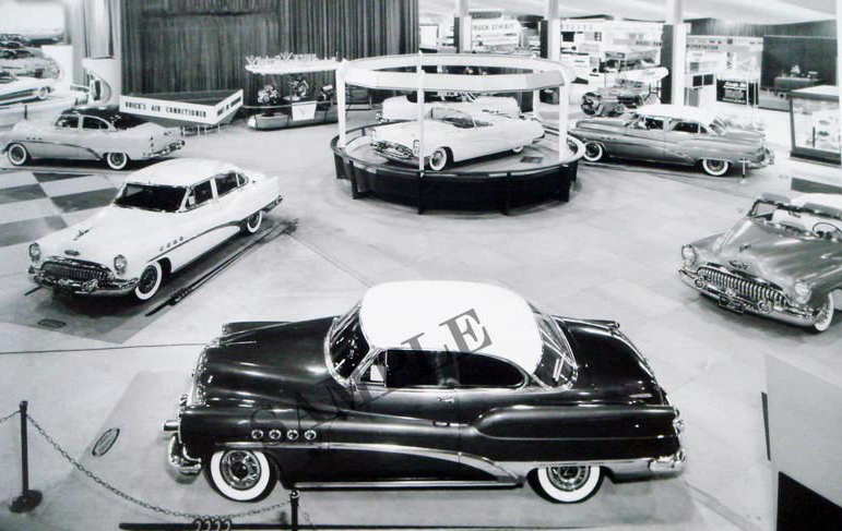 1953 Buick Motorama Display