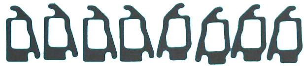 Exhaust Manifold Gasket 1964-67 Buick