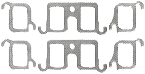 Exhaust Manifold Gasket 1967-76 Buick