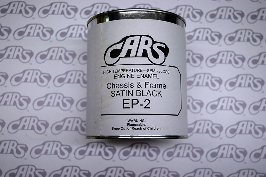 Black Chassis Paint - Satin Finish Qt