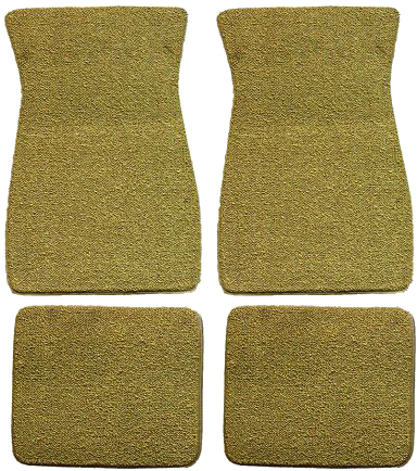 Floor Mat Set - Universal 4 Piece Set