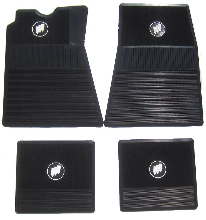 Floor Mat Set Buick Tri-Shield - Black