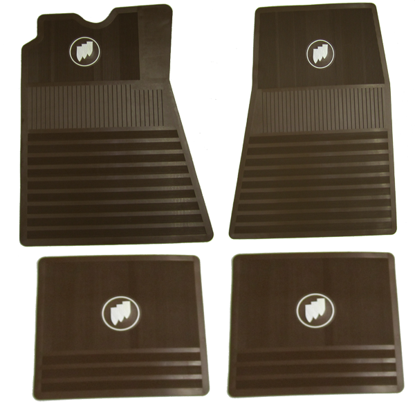 Floor Mat Set Buick Tri-Shield - Saddle