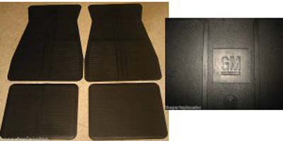 Floor Mats 1973-1988 GM - Black