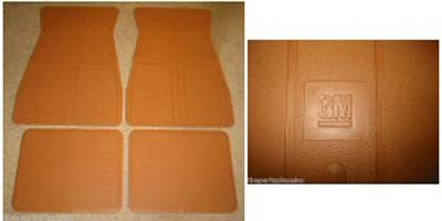 Floor Mats 1973-1988 GM - Camel Tan