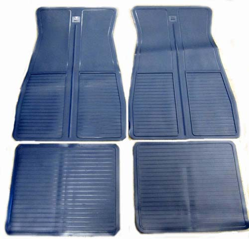 Floor Mats 1973-1988 GM - Dark Blue