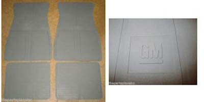 Floor Mats 1973-1988 GM - Gray