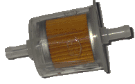 "Fuel Filter - 5/16"" Clear View"