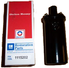 Ignition Coil 1963-73 Delco Remy Repro