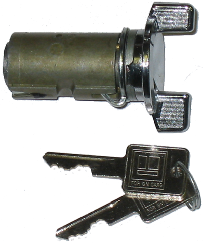 Ignition Lock 1978-87 Buick Chrome