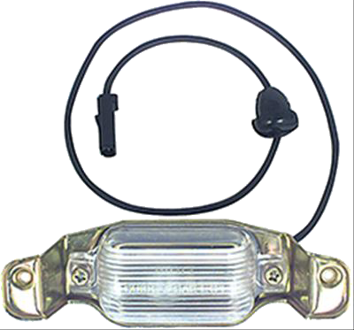 License Lamp 1968-72 Buick Skylark
