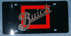 License Plate - Buick 1913 Logo