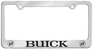 License Plate Frame - Chrome Finish