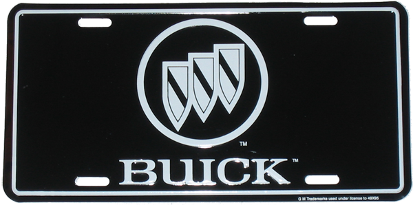 License Plate - Buick TriShield