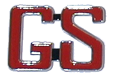 Quarter Panel Nameplate 1966 Skylark GS