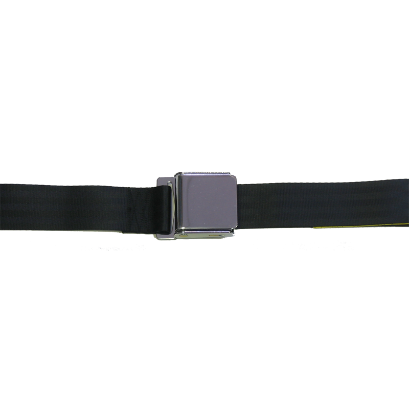 "Seat Belt Set 60"" Aircraft Style Buckle"