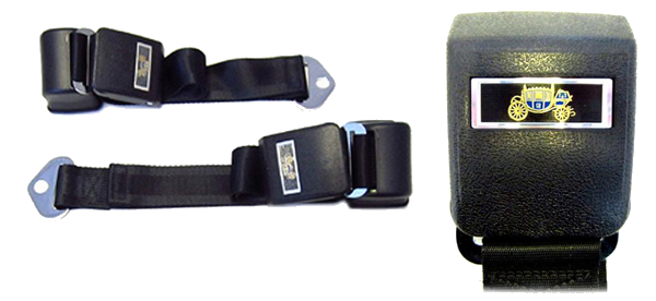 Seat Belt 1964-66 GM Style Retractable