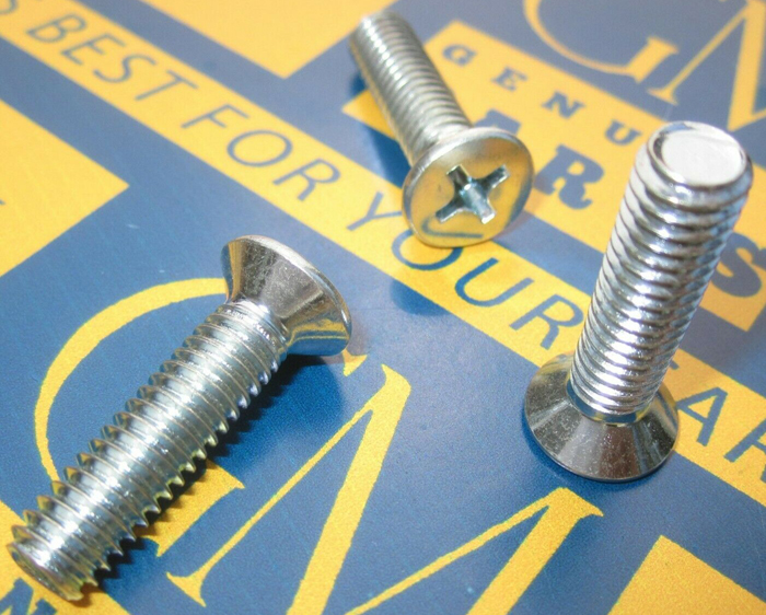 Door Striker Screw Set 1963-64 Buick