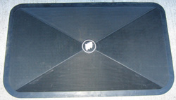 Trunk Mat - Black  (BLEM)
