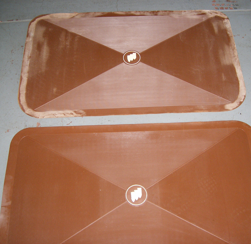 Trunk Mat 1961-75 Buick Saddle Blems