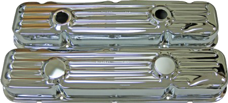 Valve Cover 1967-76 Buick 455 Chrome
