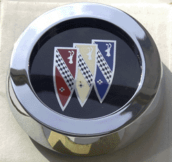 Wheel Cap 1977-87 Buick Tri-Shield Logo