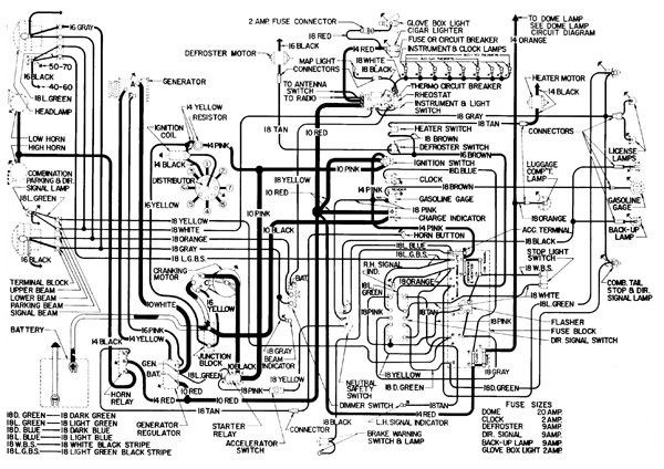 complete wiring diagram of 1938 buick roadmaster wire center u2022 rh aktivagroup co Buick Century Wiring-Diagram 1954 buick wiring diagram