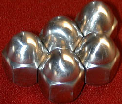 Wheel Lug Nut 1963-81 Stainless Steel 20