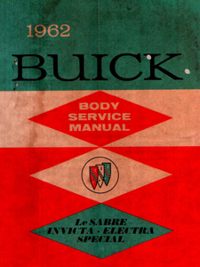 Body Manual 1962 Buick
