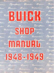 Shop Manual 1948-49 Buick