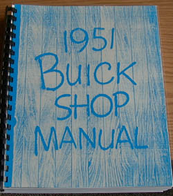 Shop Manual 1951 Buick