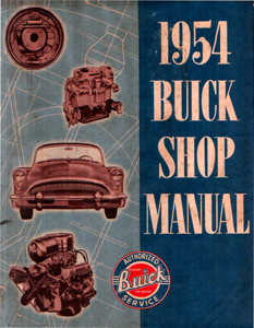 Shop Manual 1954 Buick