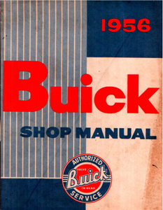 Shop Manual 1956 Buick