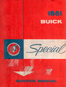 Shop Manual 1961 Buick Special