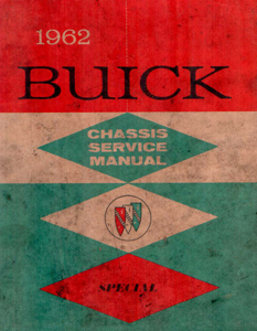 Shop Manual 1962 Buick Special