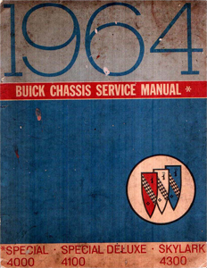 Shop Manual 1964 Buick Special Skylark