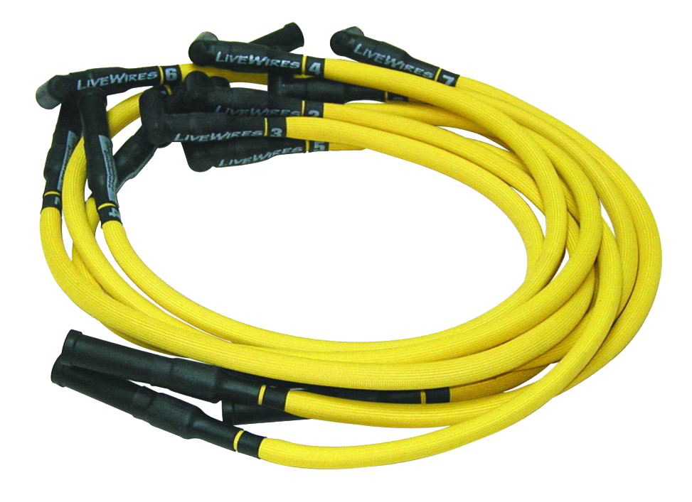Spark Plug Wire Set 1936-53 DUI383 Yello