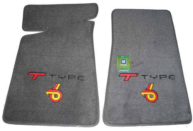 Floor Mats 1984-1987 T-Type Gray