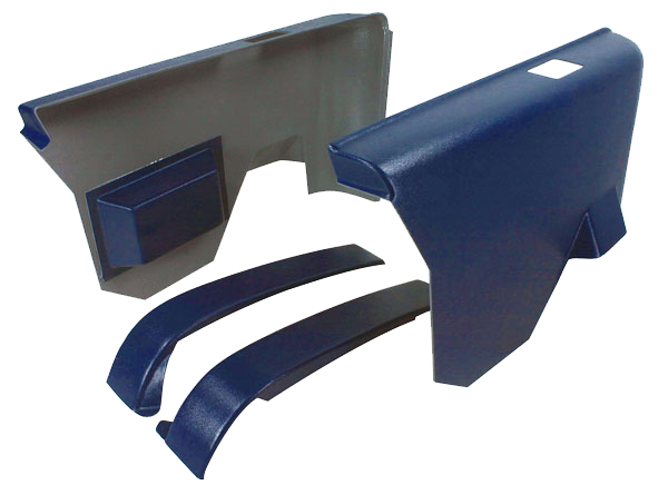 Arm Rest Panel 1970-72 Buick Rear Dk Blu