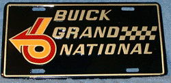 License Plate - Grand National